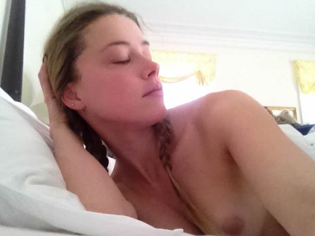 Amber Heard nipples
