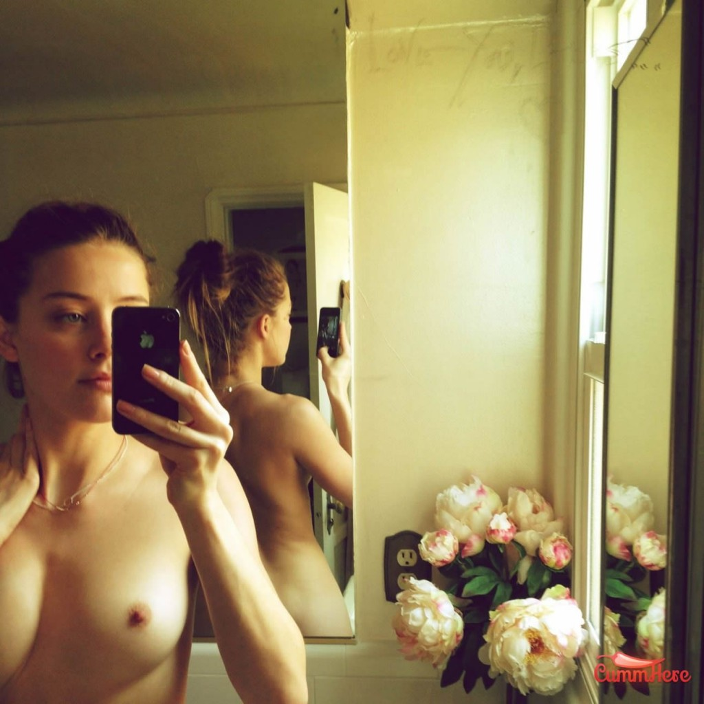Amber Heard nude amateur photo