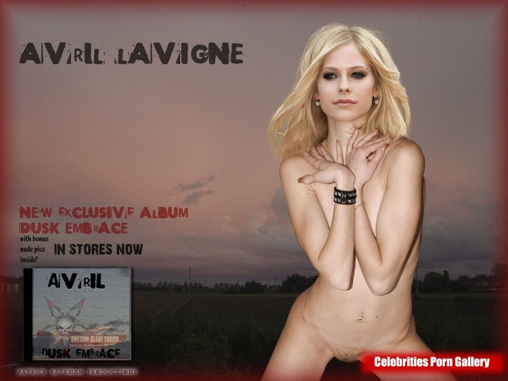 Think, avril lavigne fake nude porn