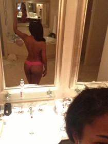 Gabrielle Union bath nude selfie