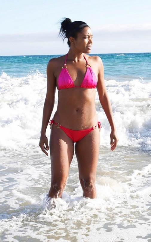 Gabrielle Union bikini body