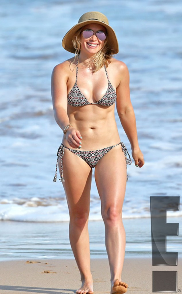 Hilary Duff in Bikini body
