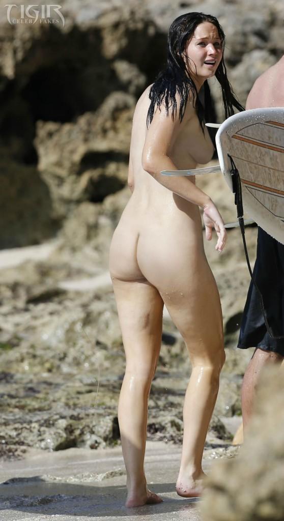 Jennifer Lawrence BIKINI nude