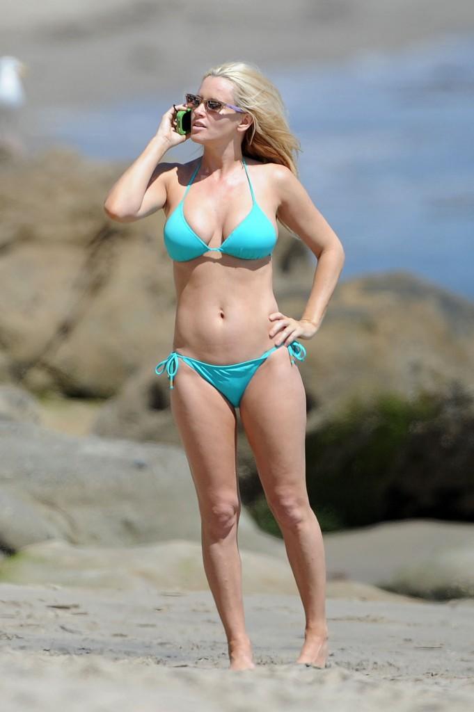 Jenny McCarthy Bikinis in Malibu