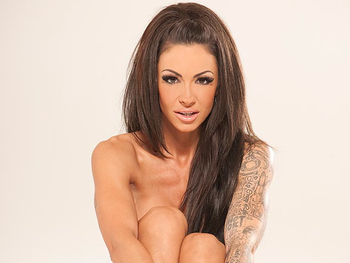 Jodie Marsh poses nude for you