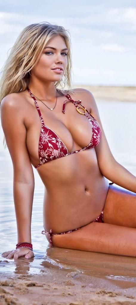 Kate Upton The thinner the bikini