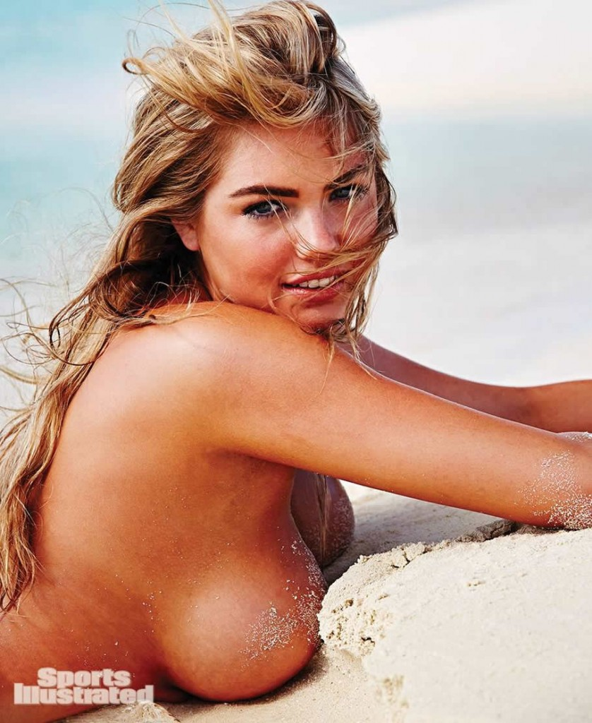 Kate Upton really huge sexy boobs