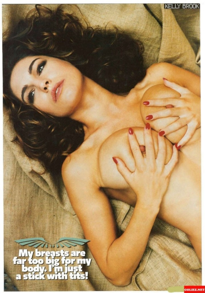 Kelly Brook my breasts