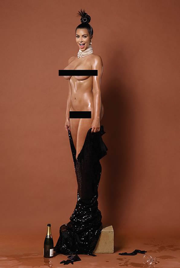 Kim was intending to 'break the internet' with the racy pictures