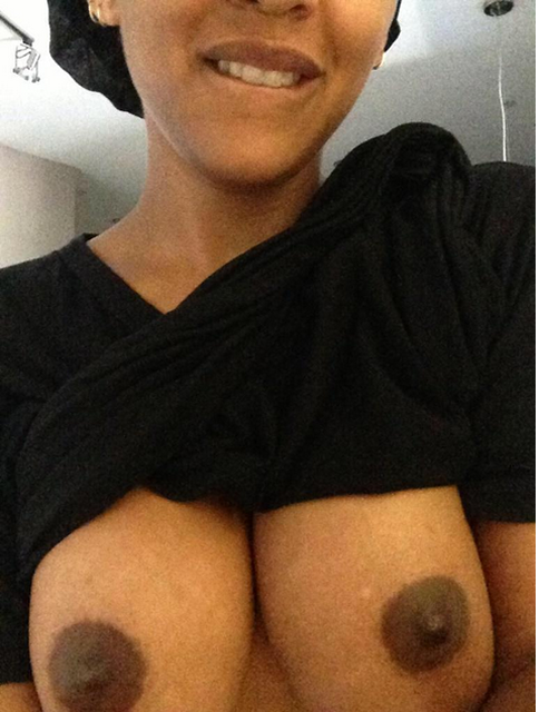 Meagan Good Nude hot tits