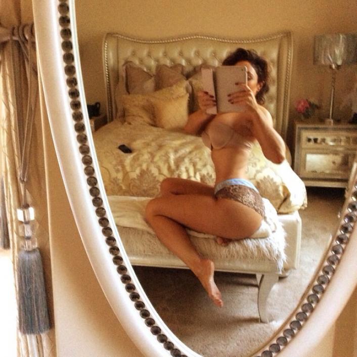 Miss Nikki baby selfie