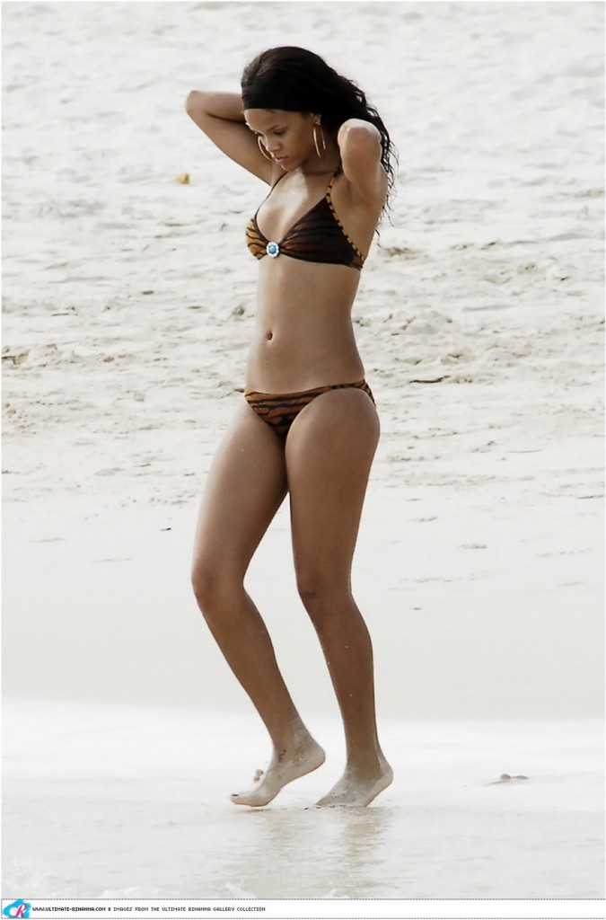 Rihanna New Bikini Beach in Barbados