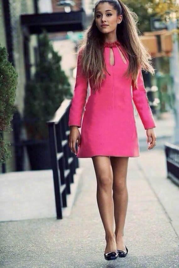 Ariana Grande style celebrity