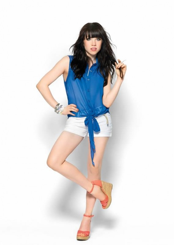 Carly Rae Jepsen hot and sexy