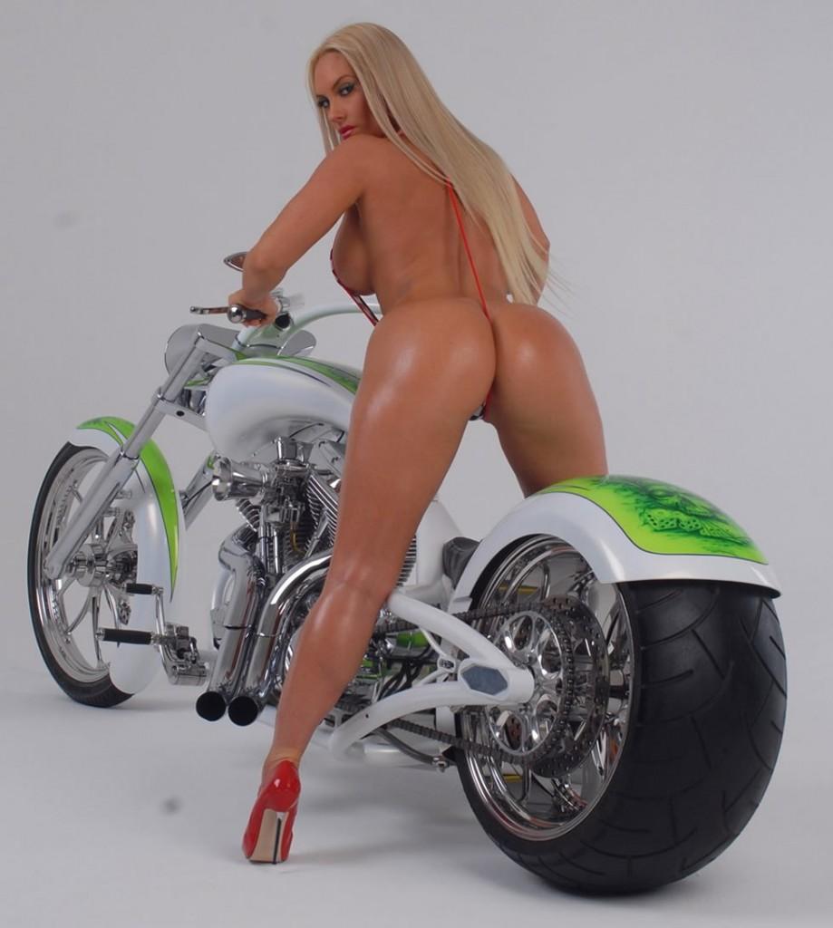Coco Austin half nude