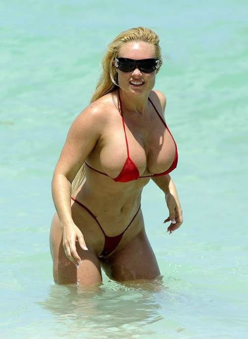 Coco Austin hot bikini photo paparazzi