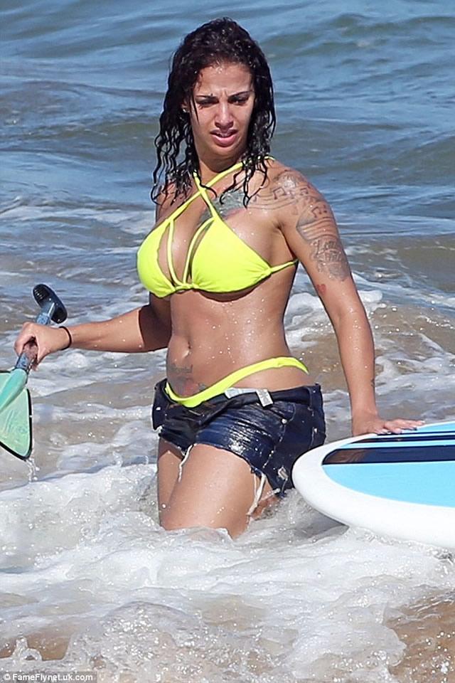 Crystal Renay in hot bikini