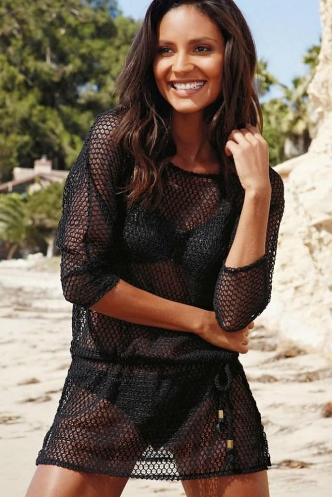 Emanuela de Paula Brazilian Model in the beach collection in 2014 Next