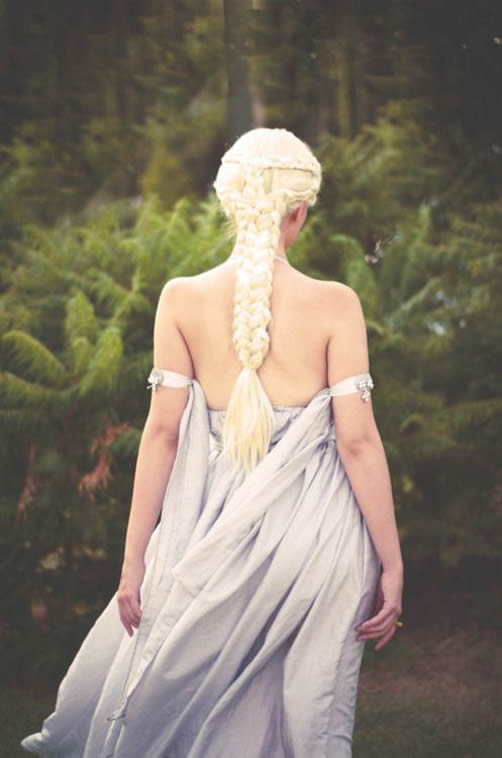 Emilia Clarke Daenerys - Game of Thrones