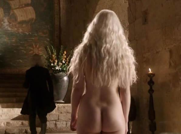 Emilia Clarke Nude Big Butty Photo
