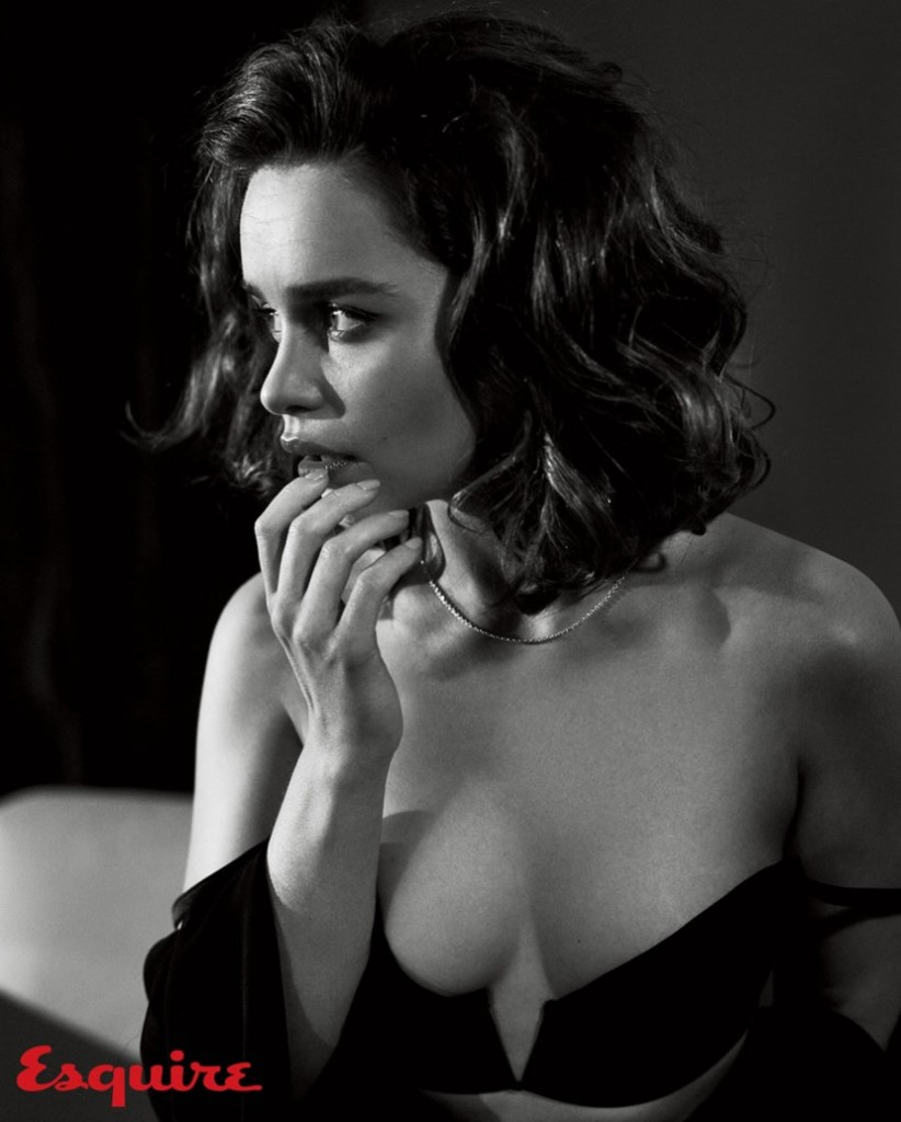 Emilia Clarke Sexy Esquire