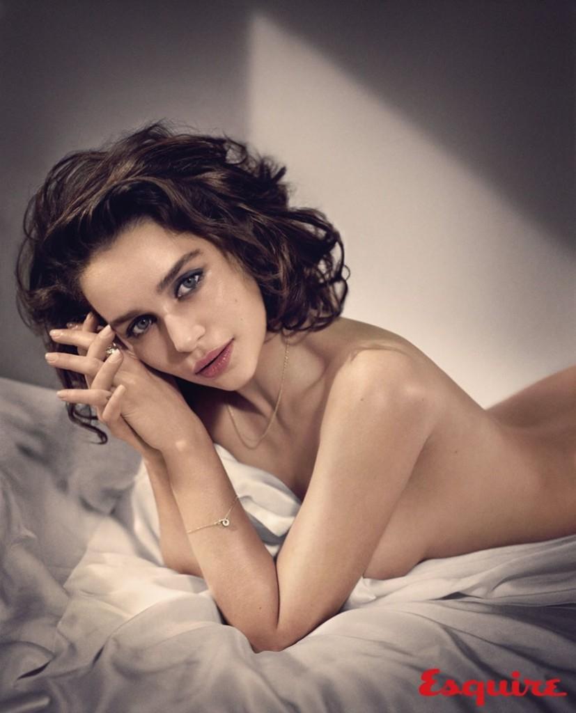 Emilia Clarke Sexy Topless