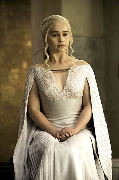 Emilia Clarke promotions photo