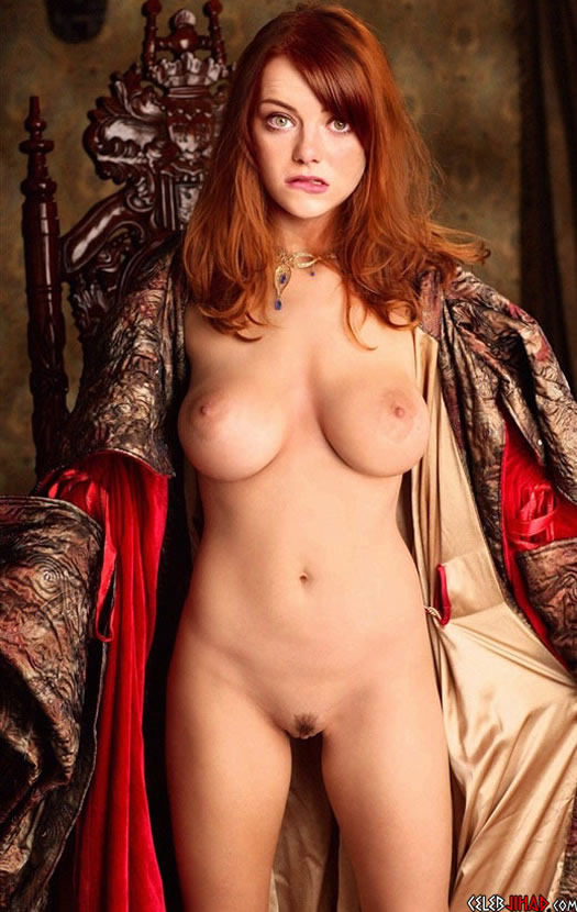 Emma Stone Fully Nude Fake Pictures