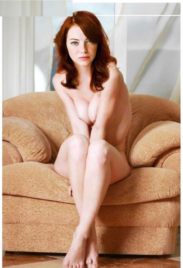 Emma Stone Naked Nude celebrity