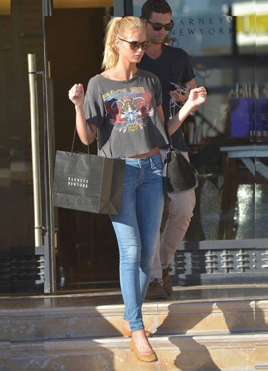 Erin Heatherton Shopping