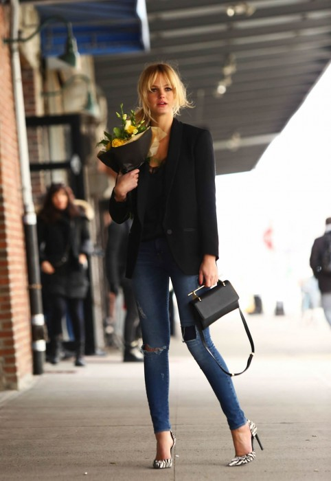 Erin Heatherton Street Fashion