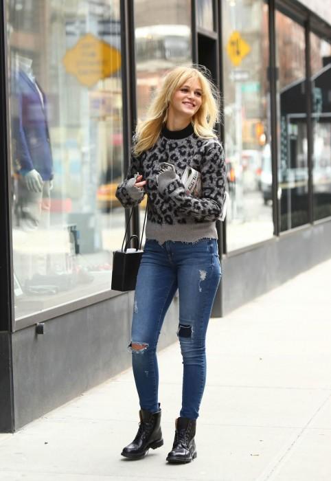 Erin Heatherton Street Style