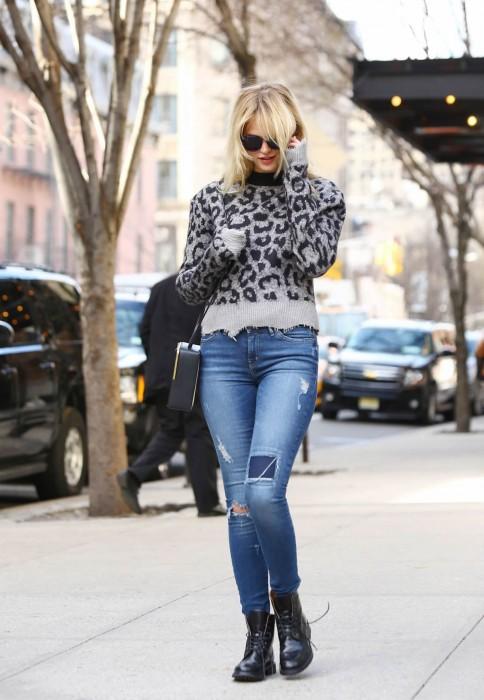 Erin Heatherton Street Style March 2015