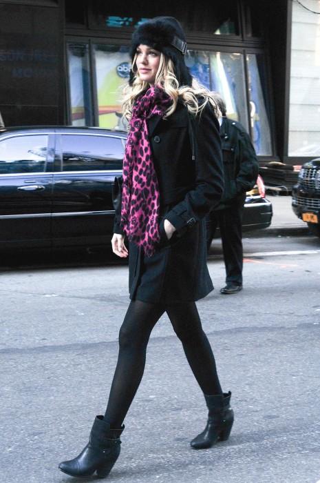 Erin Heatherton Street Style NYC