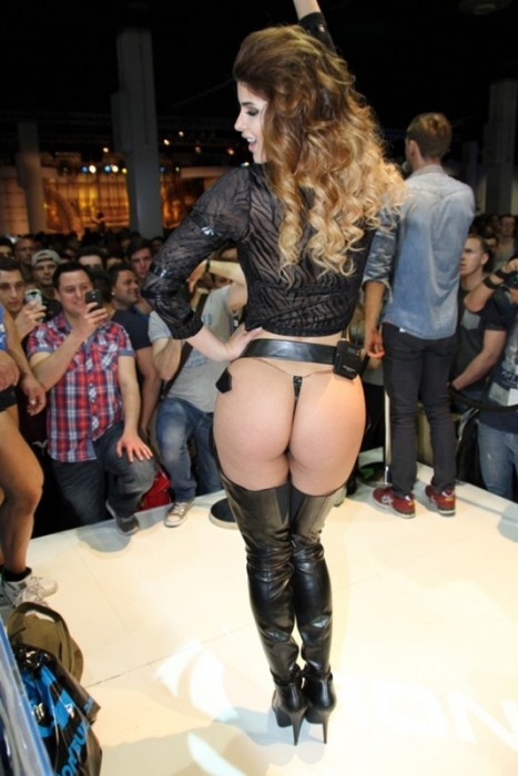 Micaela Schaefer Sexy Booty at FIBO POWER 2015