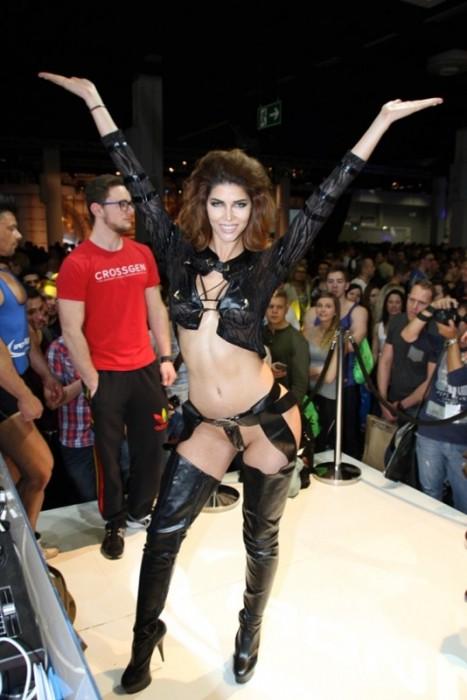 Micaela Schaefer Sweet pussy at FIBO POWER 2015