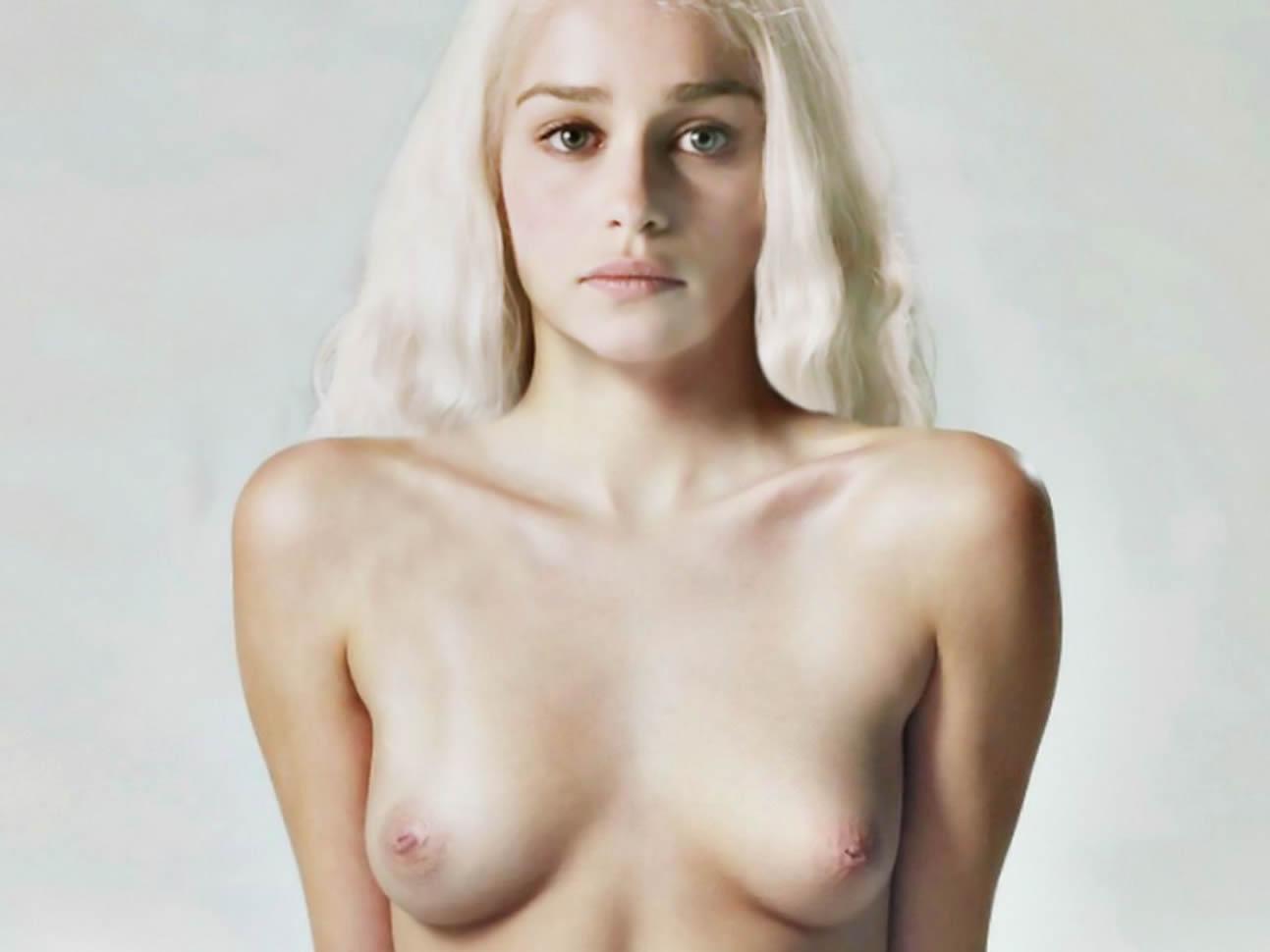 image Emilia clarke nude in voice from the stone scandalplanetcom
