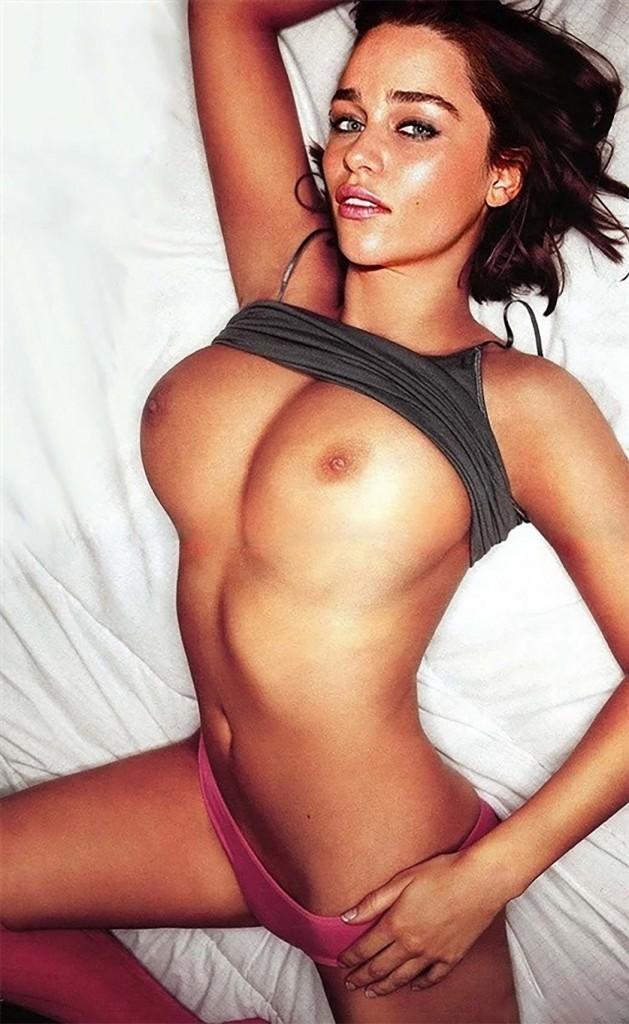 Naked Emilia Clarke Sexy Boobs Hot Pussy Leaked Photos