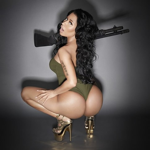 Nicki Minaj booty pictures