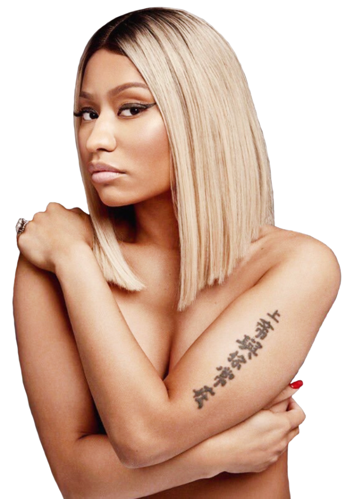 Nicki Minaj topless hot