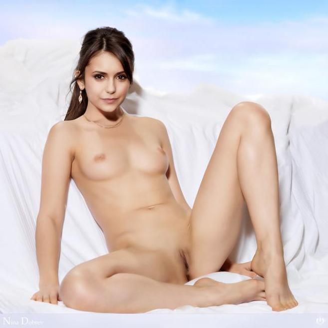 Nina Dobrev Nude Sexy Bosy Pics