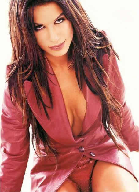Rhona Mitra Pink Panties