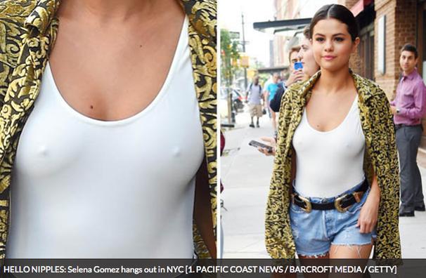 Selena Gomez nipples pics