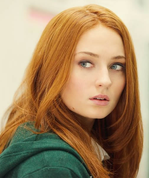 Sophie Turner Sexy Lips