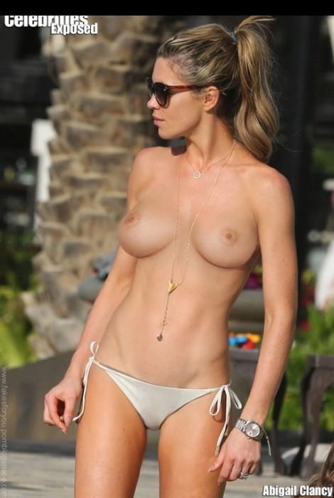 Abbey Clancy Topless