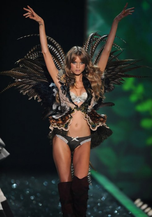 Abbey Lee Kershaw Victorias Secret