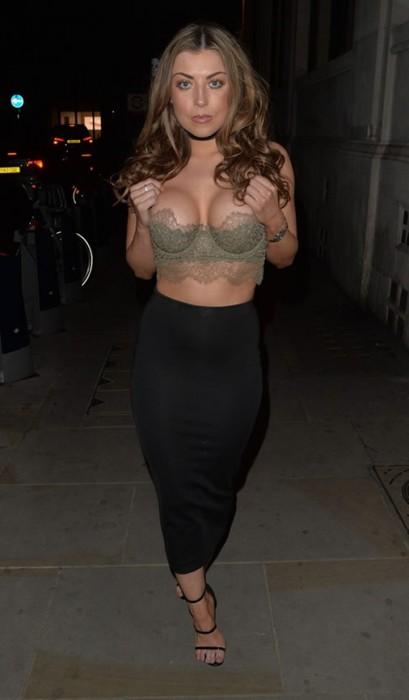 Abigail Clarke sexy boobs