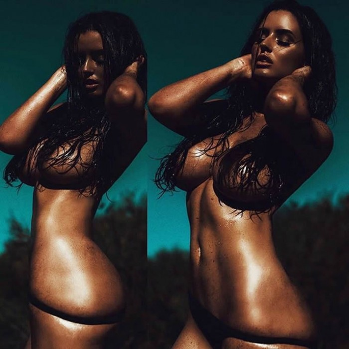 Abigail Ratchford Topless Photo