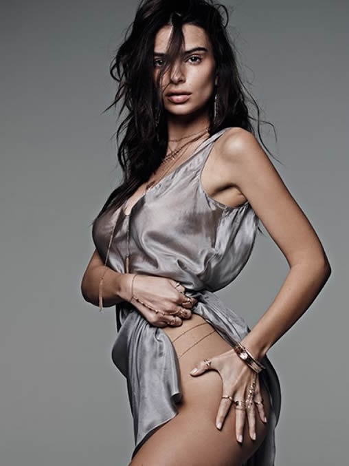 Emily Ratajkowski hot dress