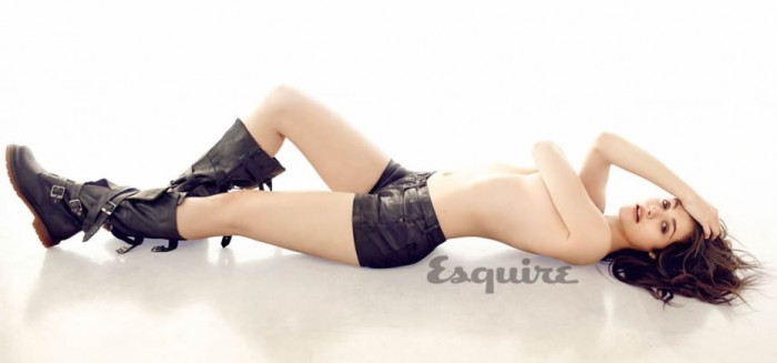 Emmy Rossum For Esquire Naked